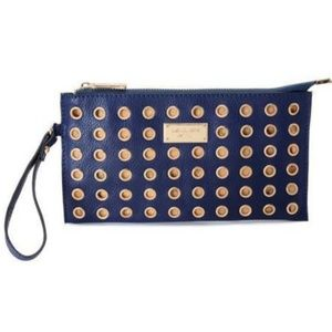 Michael Kors Colgate Grommet Large Navy Wallets